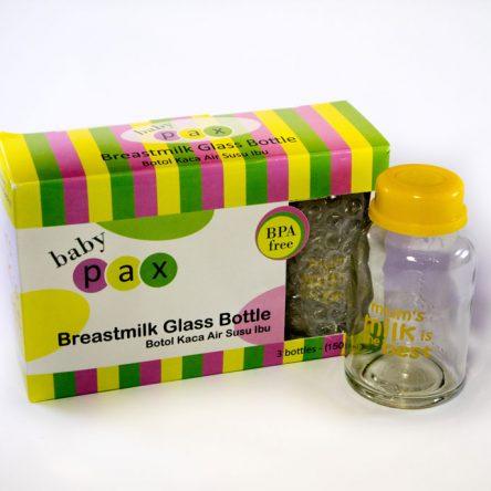 Baby Pax Botol Kaca ASI